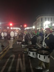 Arthur Hill High Schools Marching Band performs at the 39th Annual Christmas Pride Parade