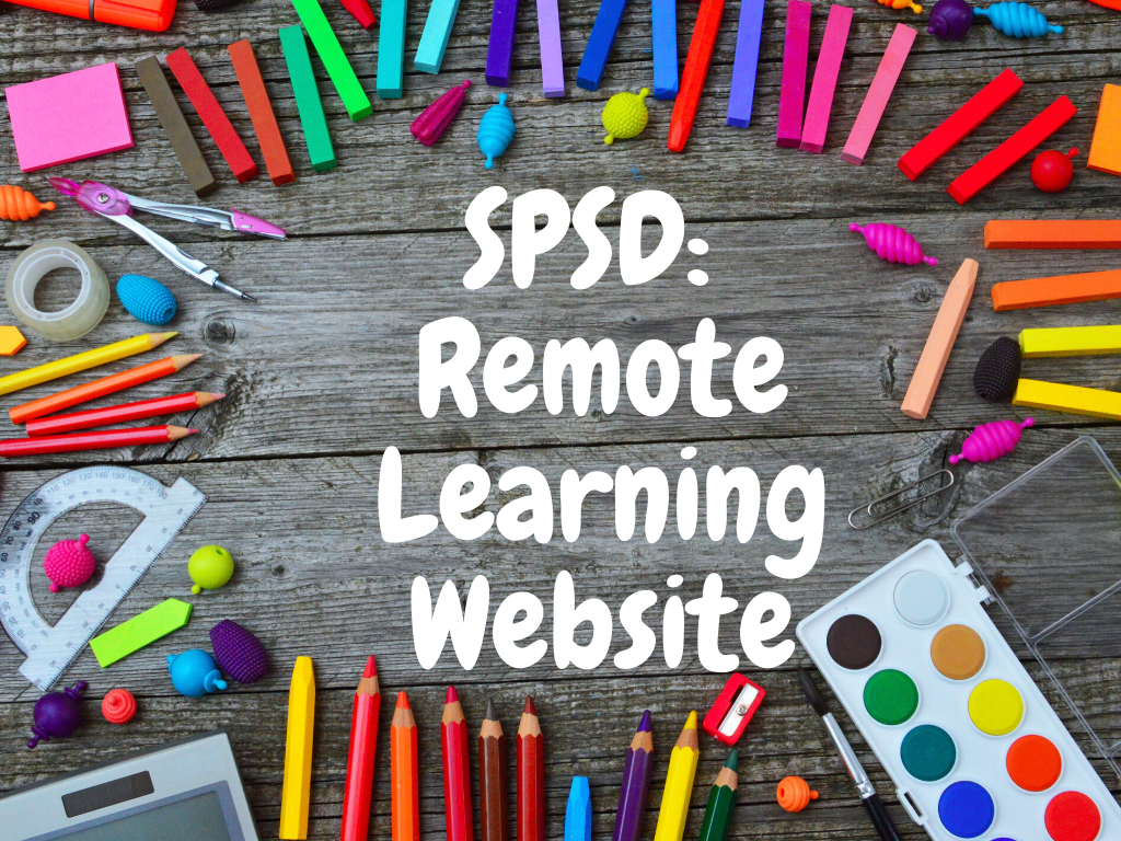 SPSD: Remote Learning Website